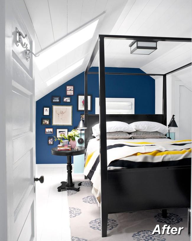 Những ý tưởng hoàn hảo để cải tạo phòng ngủ tầng áp mái - Ảnh 2.
