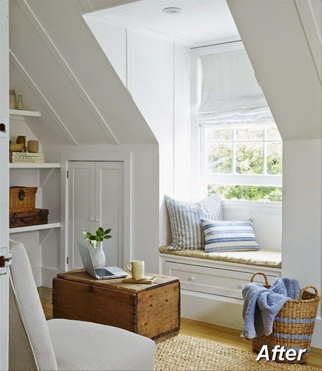 Những ý tưởng hoàn hảo để cải tạo phòng ngủ tầng áp mái - Ảnh 6.