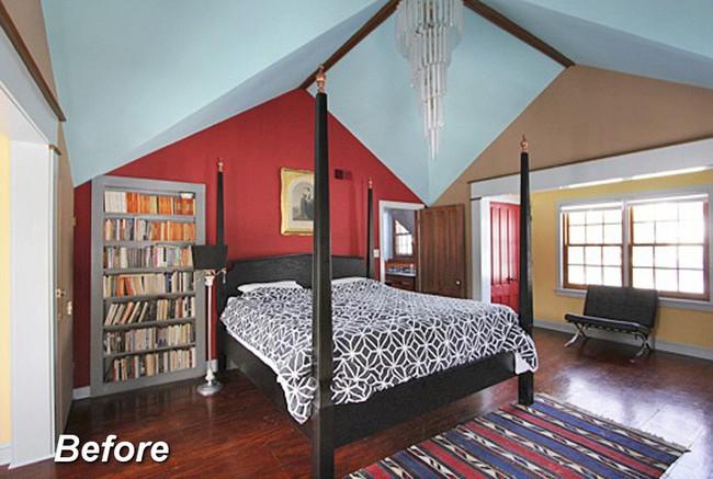 Những ý tưởng hoàn hảo để cải tạo phòng ngủ tầng áp mái - Ảnh 7.