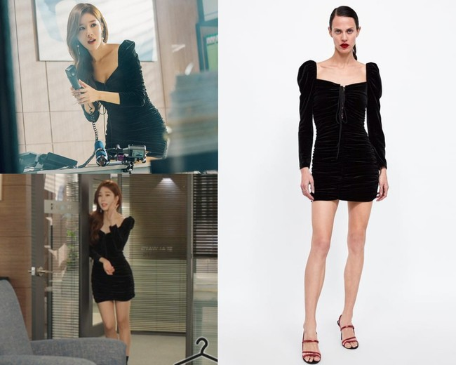 Nhờ thân hình đồng hồ cát với vòng 1 khủng, Yoo In Na luôn diện đồ đẹp hơn gấp bội người mẫu chuyên nghiệp  - Ảnh 4.