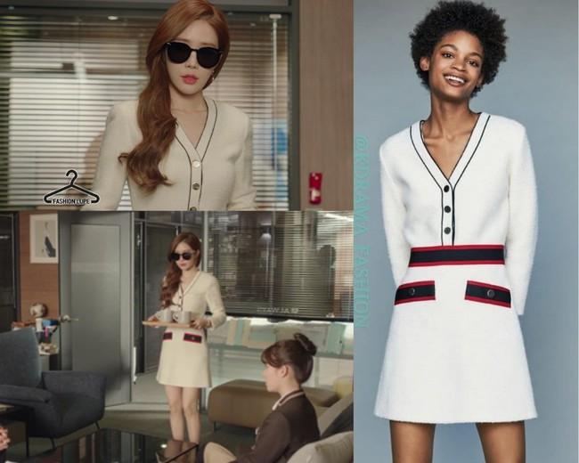 Nhờ thân hình đồng hồ cát với vòng 1 khủng, Yoo In Na luôn diện đồ đẹp hơn gấp bội người mẫu chuyên nghiệp  - Ảnh 3.