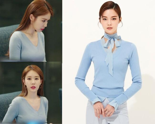Nhờ thân hình đồng hồ cát với vòng 1 khủng, Yoo In Na luôn diện đồ đẹp hơn gấp bội người mẫu chuyên nghiệp  - Ảnh 2.