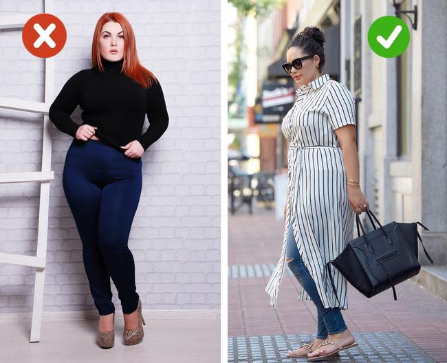 5 sai lầm cực tai hại trong việc chọn trang phục, chị em cần biết để tránh trở nên kệch cỡm - Ảnh 3.