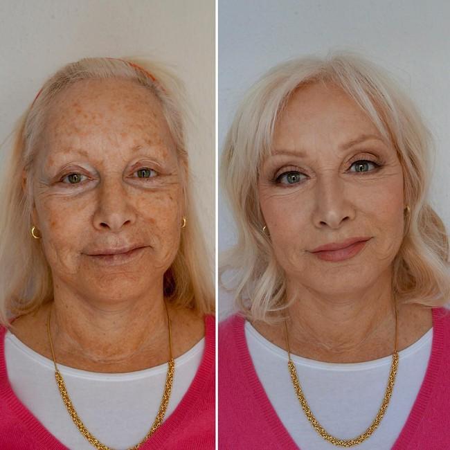 Gây sốt vì phù phép gương mặt của mẹ trẻ ra chục tuổi, cô con gái chia sẻ 4 tips makeup cực đơn giản sau - Ảnh 1.