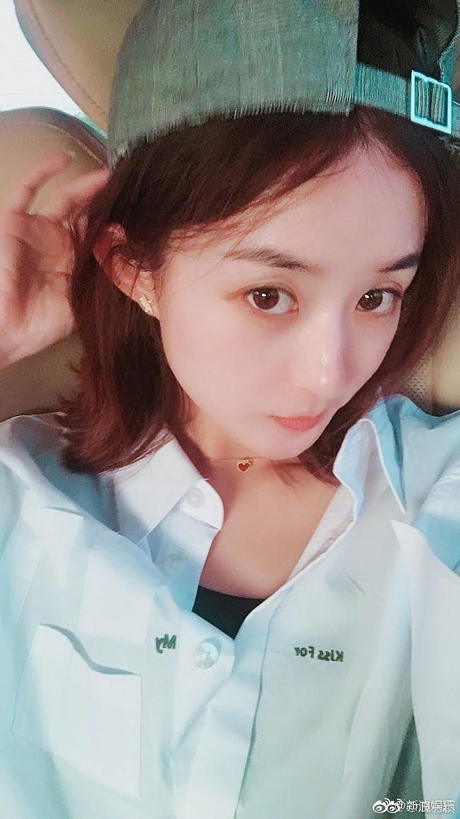 So ảnh mặt mộc của loạt mỹ nhân Hoa - Hàn: Phạm Băng Băng đánh bật Triệu Vy, Angela Baby, Song Hye Kyo… nhờ nước da đặc biệt - Ảnh 4.