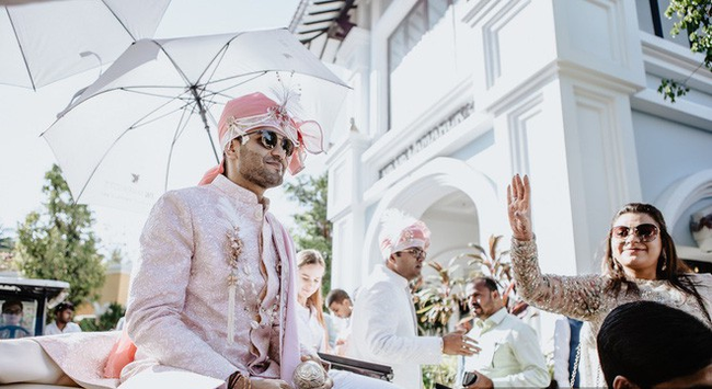 Ngày cuối cùng của đám cưới tỷ phú Ấn Độ ở Phú Quốc:  1 loạt những shot hình độc đáo, đẹp mắt mang đẳng cấp sang-xịn-mịn - Ảnh 16.