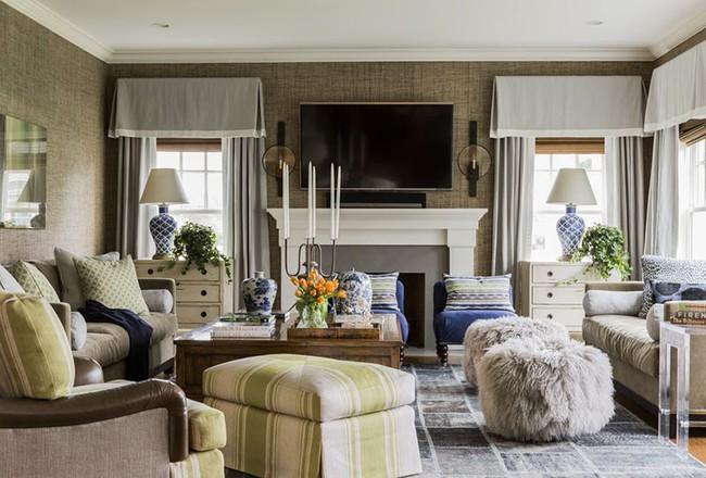 Phong cách nào cũng được những bạn không thể bỏ qua yếu tố này khi thiết kế phòng khách - Ảnh 4.