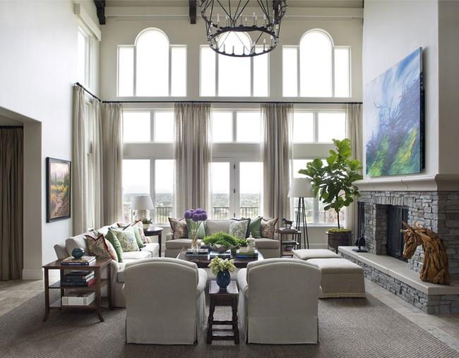 Phong cách nào cũng được những bạn không thể bỏ qua yếu tố này khi thiết kế phòng khách - Ảnh 13.