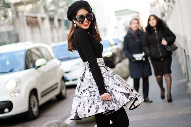 Thảo Tiên: Cô nàng rich kid mới 22 tuổi nhưng mê đồ đen đến mức sắc đen ngập tràn mọi ngõ ngách Instagram - Ảnh 2.