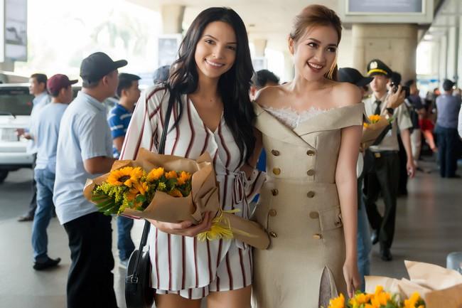 Ngọc Châu rạng rỡ chào đón Miss Supranational và Mister Supranational đến Việt Nam - Ảnh 7.