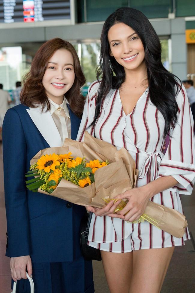 Ngọc Châu rạng rỡ chào đón Miss Supranational và Mister Supranational đến Việt Nam - Ảnh 9.