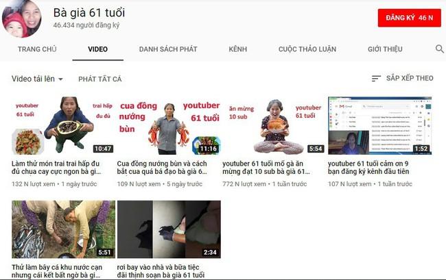 Đừng tưởng già là mù công nghệ, bà già 61 tuổi thách thức giới trẻ bằng loạt clip triệu view trên Youtube đây này! - Ảnh 2.