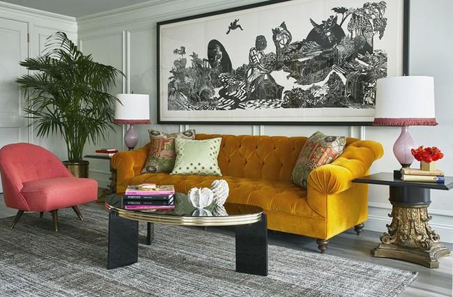 Thay da đổi thịt cho căn phòng khách gia đình bằng những món đồ nội thất hiện đại - Ảnh 12.