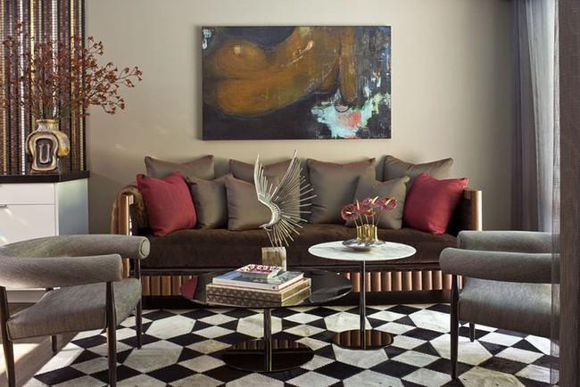 Thay da đổi thịt cho căn phòng khách gia đình bằng những món đồ nội thất hiện đại - Ảnh 14.
