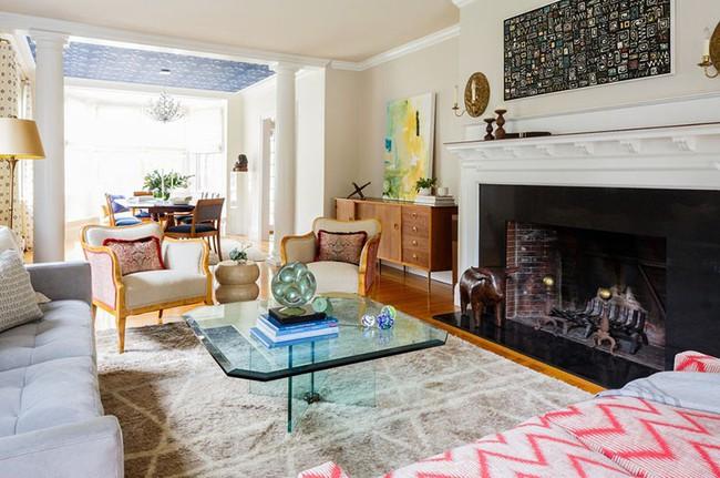 Thay da đổi thịt cho căn phòng khách gia đình bằng những món đồ nội thất hiện đại - Ảnh 19.