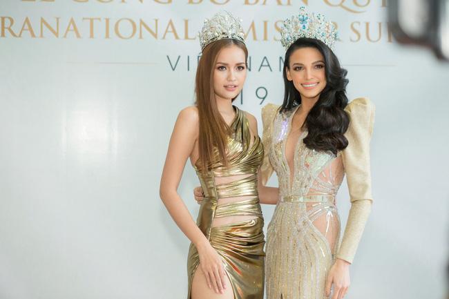 Bị so sánh không thể bằng Minh Tú khi thi Hoa hậu Siêu quốc gia, Ngọc Châu đáp trả thế này  - Ảnh 2.