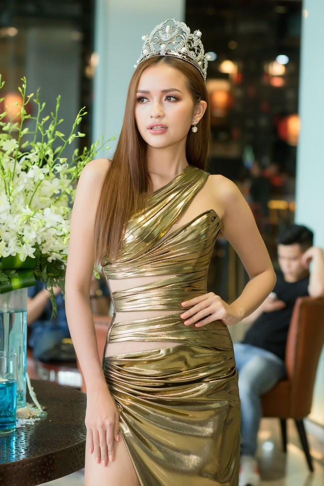 Bị so sánh không thể bằng Minh Tú khi thi Hoa hậu Siêu quốc gia, Ngọc Châu đáp trả thế này  - Ảnh 1.