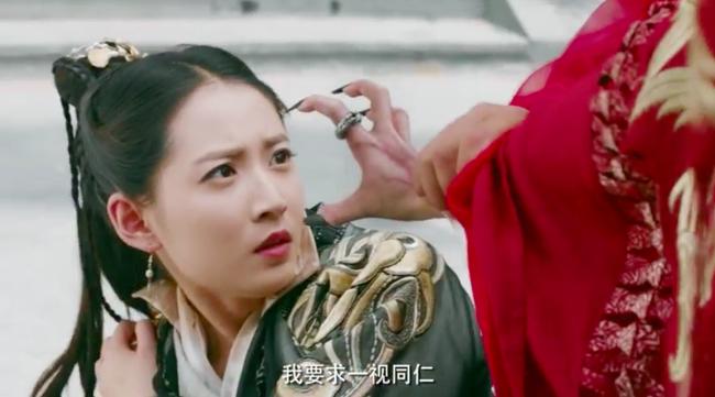 Biết fan mong ngóng, Tân Ỷ thiên tung ngay cảnh Triệu Mẫn phá đám cưới, cướp Trương Vô Kỵ khỏi tay Chu Chỉ Nhược - Ảnh 8.