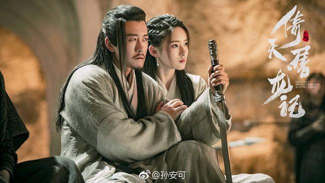 Chuyện oái oăm ở Tân Ỷ thiên: Cha con Dương Tiêu - Dương Bất Hối đẹp đến mức fan tưởng nhầm cặp tình nhân  - Ảnh 6.