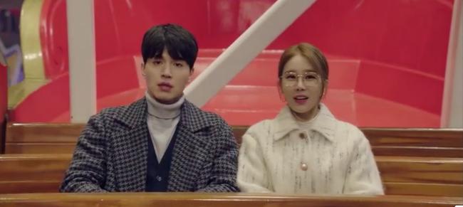 Cười ngất với 1.001 biểu cảm đáng xấu hổ của Lee Dong Wook khi chơi trò cảm giác mạnh - Ảnh 5.