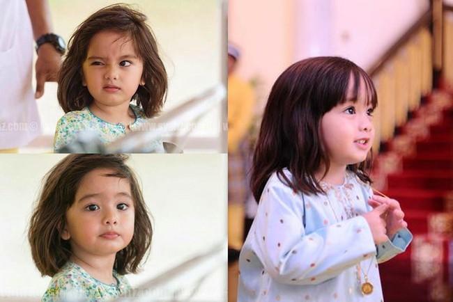 Hé lộ chân dung tiểu công chúa Malaysia đang làm mưa làm gió trên mạng xã hội, không thua kém Charlotte của Hoàng gia Anh - Ảnh 4.