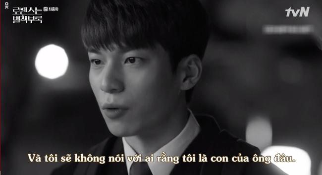 Tập cuối Phụ lục tình yêu: Lee Jong Suk rơi nước mắt nhìn bố nuôi qua đời trong cô độc - Ảnh 2.