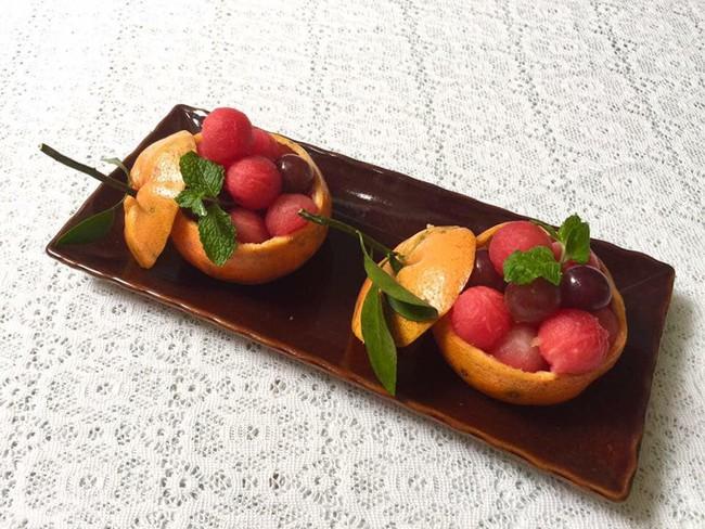 Lác mắt với những cách cắt xếp trái cây đẹp mê hồn của mẹ đảm Sài Gòn - Ảnh 11.