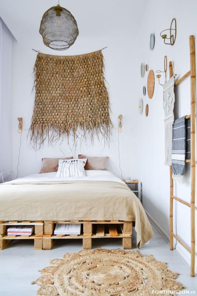 Giường pallet, loại giường ngon - bổ - rẻ, góp mặt trong không gian nào cũng xinh xắn, hài hòa - Ảnh 7.