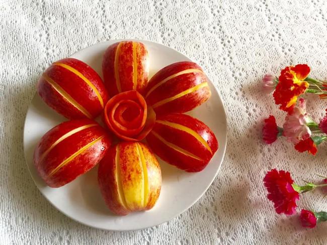 Lác mắt với những cách cắt xếp trái cây đẹp mê hồn của mẹ đảm Sài Gòn - Ảnh 14.