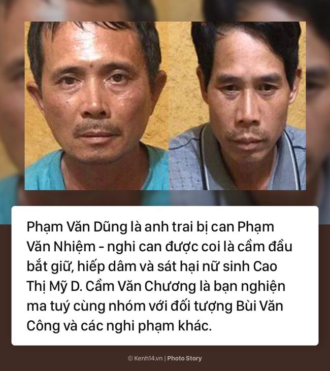 Những tình tiết gây sốc khi bắt giữ thêm 3 đối tượng liên quan vụ trọng án nữ sinh giao gà bị sát hại, cưỡng hiếp - Ảnh 5.