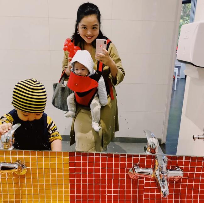 Tròn 1 năm kết hôn, Hồng Mi - con gái NS Chiều Xuân đã lên chức mẹ 2 lần mà vẫn trẻ đẹp rạng ngời - Ảnh 2.