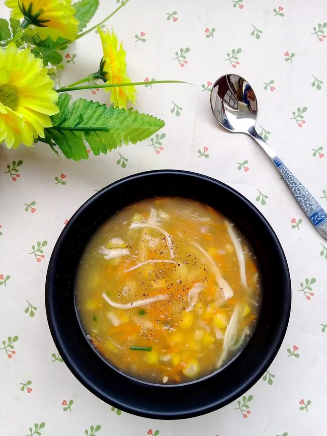 Bữa sáng muốn nhẹ bụng, hãy nấu ngay món súp gà ngon lành mà đủ chất này bạn nhé! - Ảnh 6.