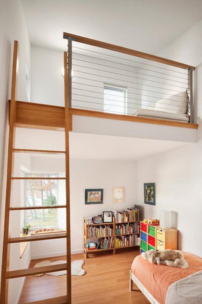 Tư vấn thiết kế phòng ngủ siêu bé với diện tích 8,4m² cho gia đình 5 người - Ảnh 3.