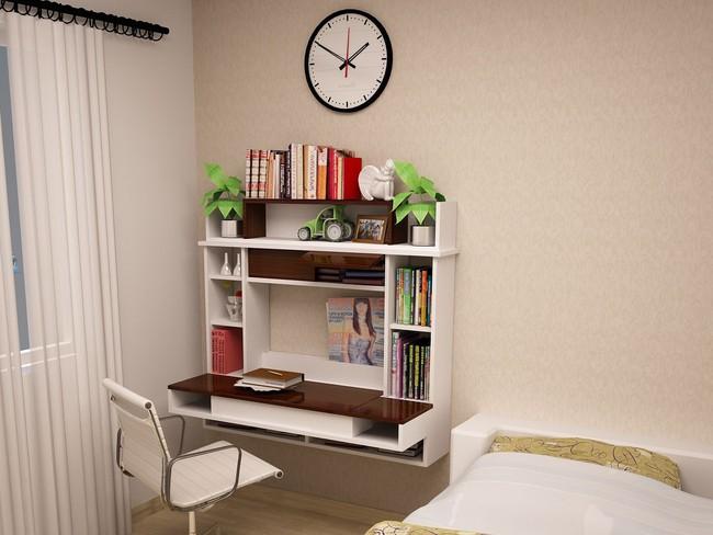 Tư vấn thiết kế phòng ngủ siêu bé với diện tích 8,4m² cho gia đình 5 người - Ảnh 6.