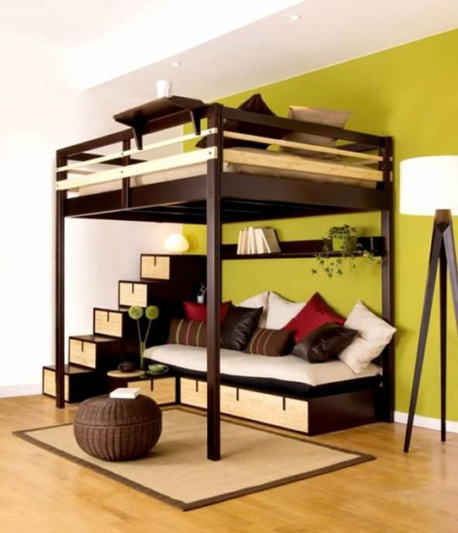 Tư vấn thiết kế phòng ngủ siêu bé với diện tích 8,4m² cho gia đình 5 người - Ảnh 9.