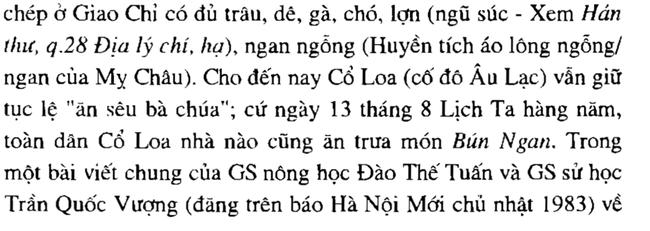 Bát bún ngan trứ danh ta ăn bây giờ không ngờ lại có liên hệ mật thiết đến tích áo lông ngỗng của Mỵ Châu thời An Dương Vương - Ảnh 4.