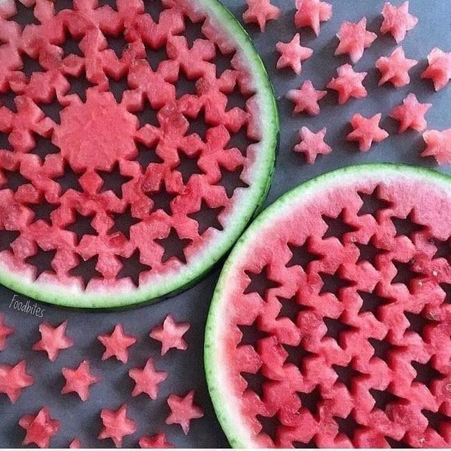 Những cách cắt xếp trái cây siêu cute mẹ nào cũng có thể làm được ngay vì cực dễ - Ảnh 2.