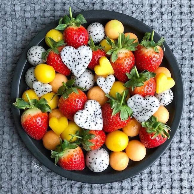 Những cách cắt xếp trái cây siêu cute mẹ nào cũng có thể làm được ngay vì cực dễ - Ảnh 5.