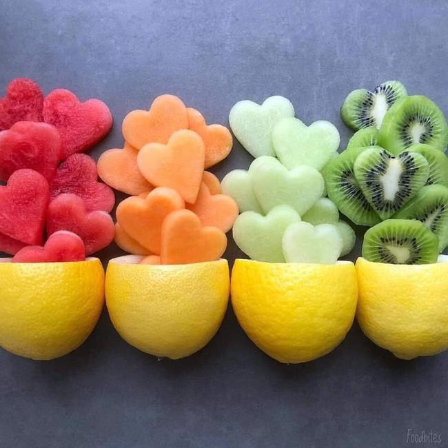 Những cách cắt xếp trái cây siêu cute mẹ nào cũng có thể làm được ngay vì cực dễ - Ảnh 6.