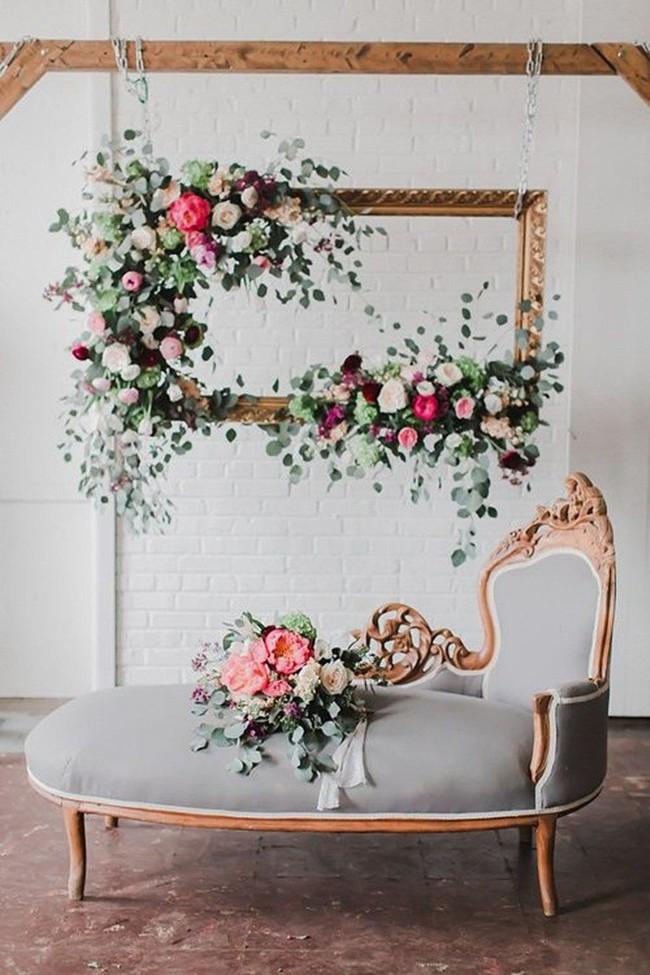 Trang trí giường cưới đẹp ngọt ngào và lãng mạn với hoa tươi - Ảnh 18.