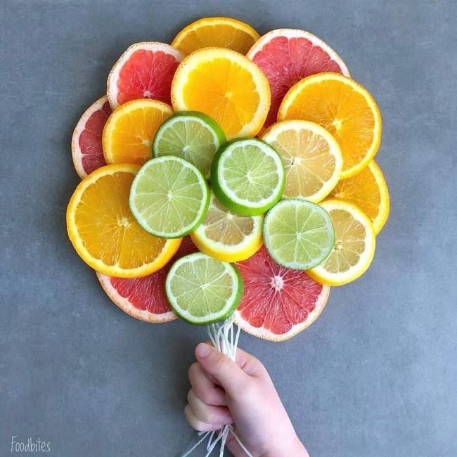 Những cách cắt xếp trái cây siêu cute mẹ nào cũng có thể làm được ngay vì cực dễ - Ảnh 9.