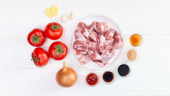 Có sụn heo om cà chua mềm ngon, nồi cơm nhà tôi hết veo trong nháy mắt - Ảnh 1.