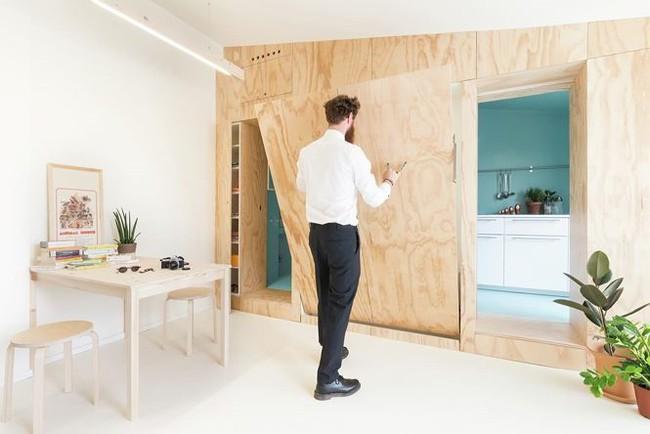 Nhà nhỏ bỗng rộng thênh thang nhờ thiết kế thông minh - Ảnh 1.