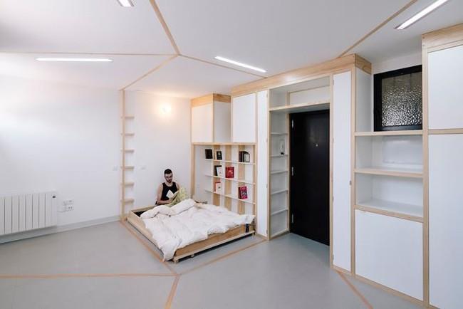 Nhà nhỏ bỗng rộng thênh thang nhờ thiết kế thông minh - Ảnh 3.