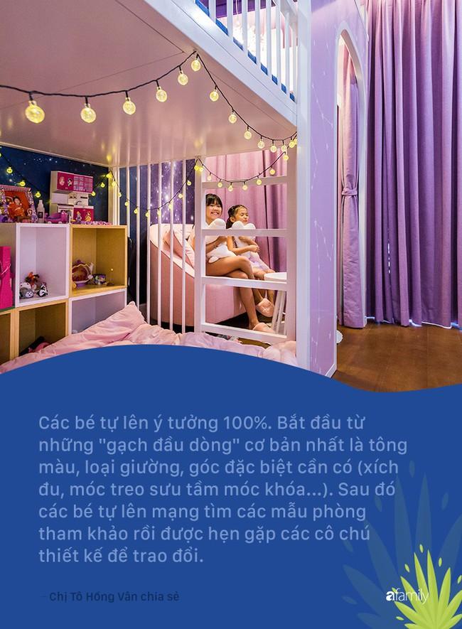 Hot mom Sài Gòn mạnh tay chi 210 triệu để 3 con gái tự trang trí phòng theo ý mình, lý do bí mật phía sau rất bất ngờ - Ảnh 5.