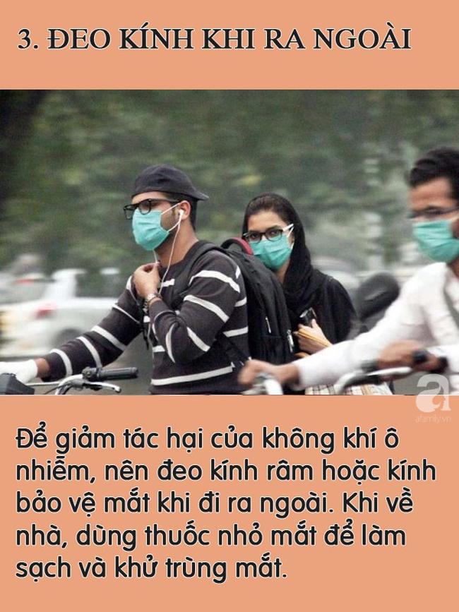 Ô nhiễm không khí đáng sợ ở Hà Nội, cần làm gì để bảo vệ mình khỏi bị nhiễm độc? - Ảnh 3.
