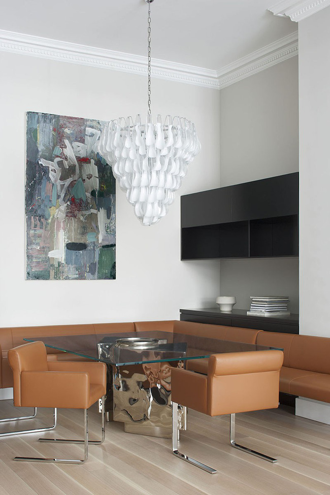 Mách bạn chỉ với một bí kíp thôi cũng đủ khiến căn phòng ăn gia đình đẹp hớp hồn - Ảnh 9.