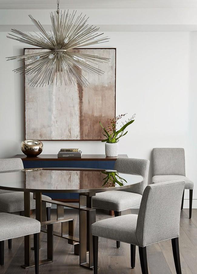 Mách bạn chỉ với một bí kíp thôi cũng đủ khiến căn phòng ăn gia đình đẹp hớp hồn - Ảnh 14.