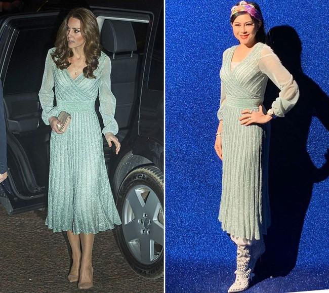"""Diện toàn đồ xa xỉ, doanh nhân Thủy Tiên đụng hàng ngay với công nương Kate Middleton mà độ """"chất"""" chẳng hề kém cạnh - Ảnh 6."""