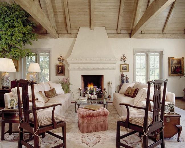 Điểm danh vài mẫu lò sưởi cực thích hợp cho phòng khách gia đình thêm phần ấm cúng - Ảnh 2.